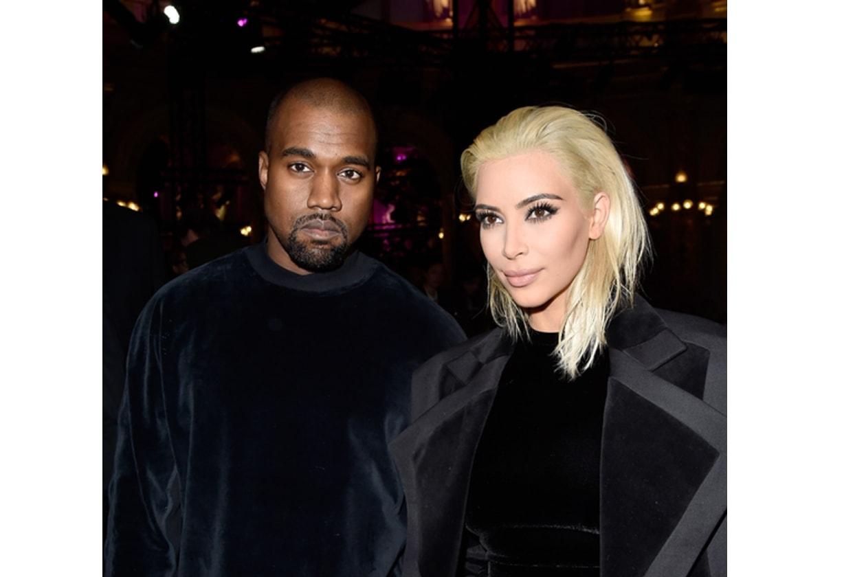 Kim Kardashian bionda per Balmain