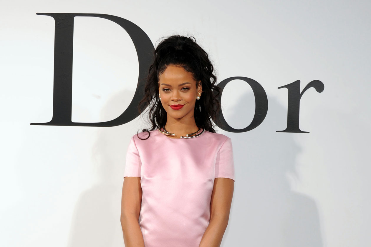 La nuova testimonial: Rihanna