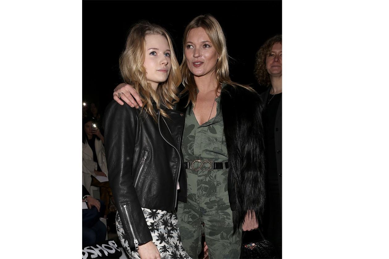 Le sorelle Moss durante la Fashion Week