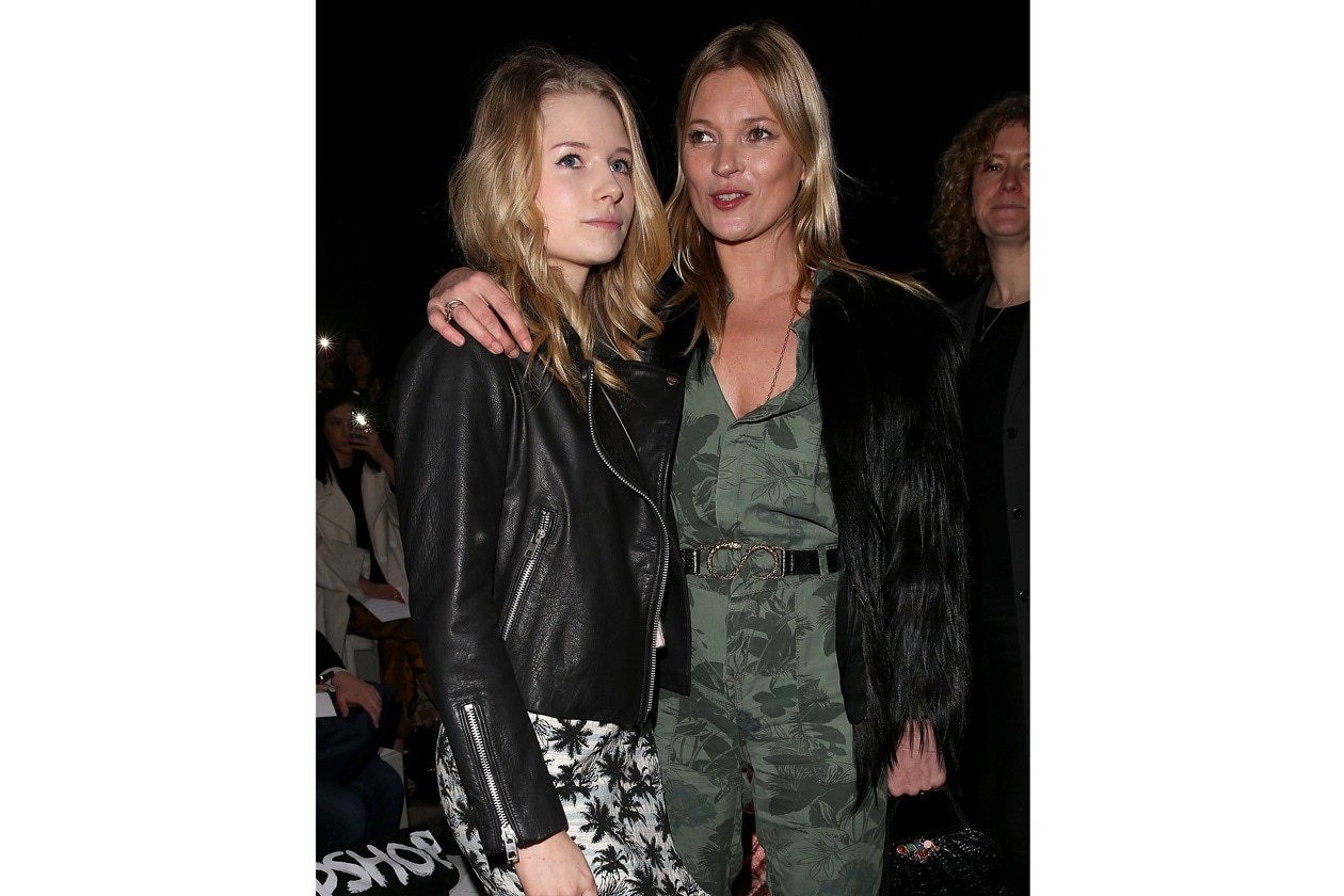 Lottie e Kate Moss