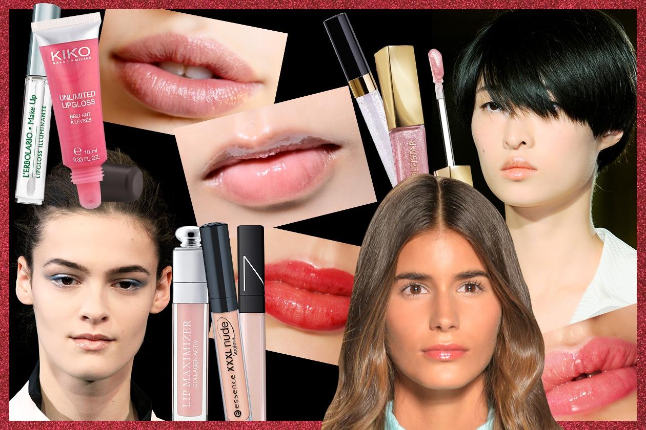 Lucidalabbra: il trucco labbra glossy di tendenza della P/E 2015