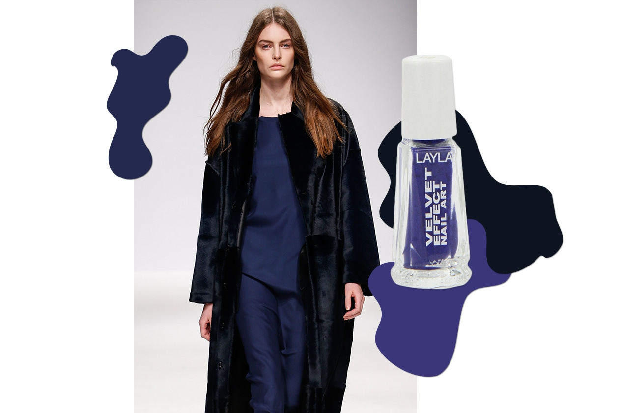 MANICURE e MATCHY DRESS: Velvet Touch