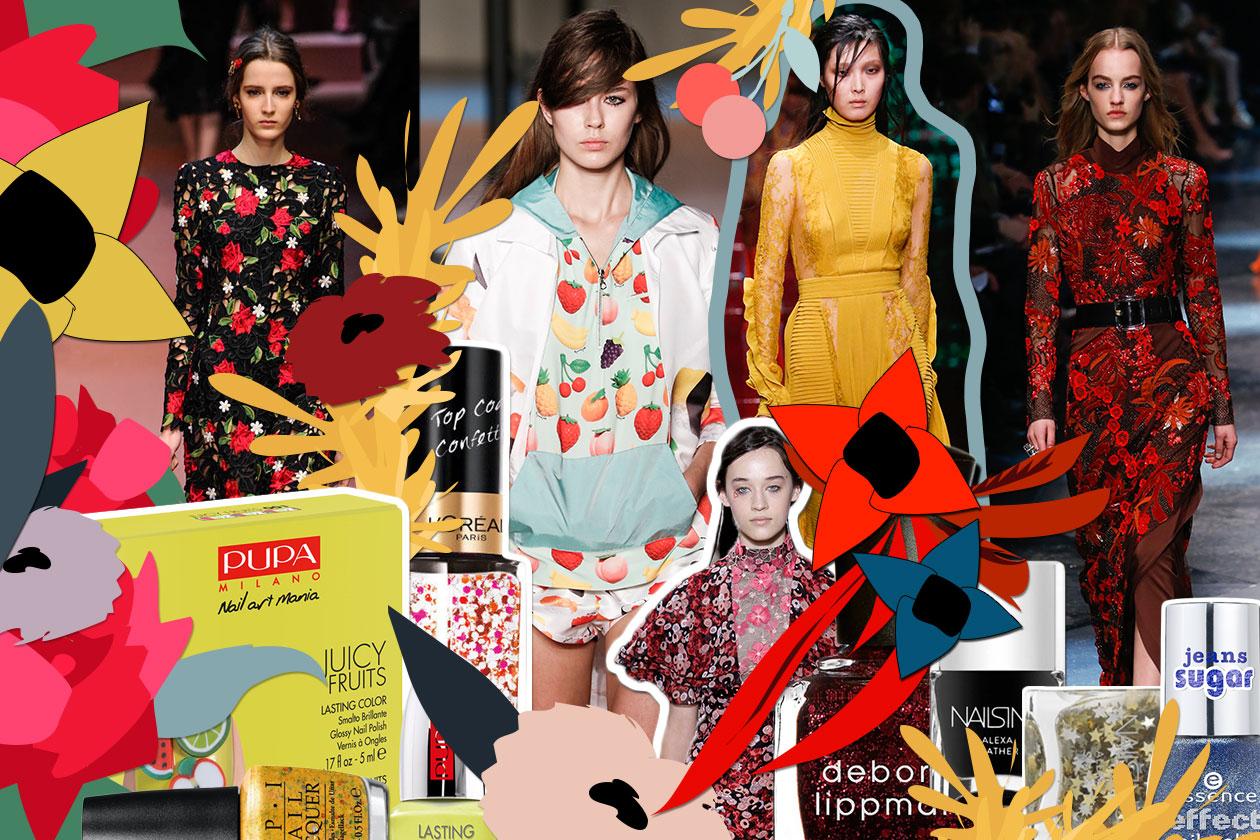 MANICURE e MATCHY DRESS: gli smalti diventano couture