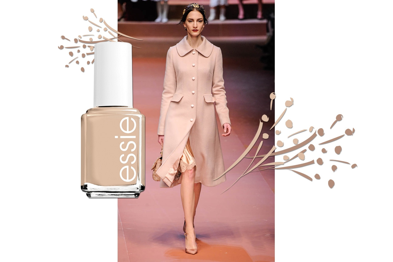 MANICURE e MATCHY DRESS: Nude Cashmere