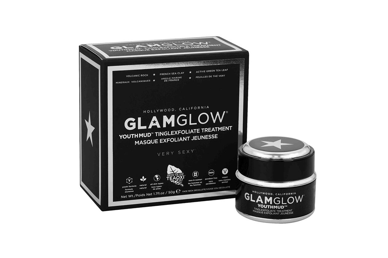 MASCHERE VISO PURIFICANTI: GlamGlow Youthmud Tinglexfoliate Treatment