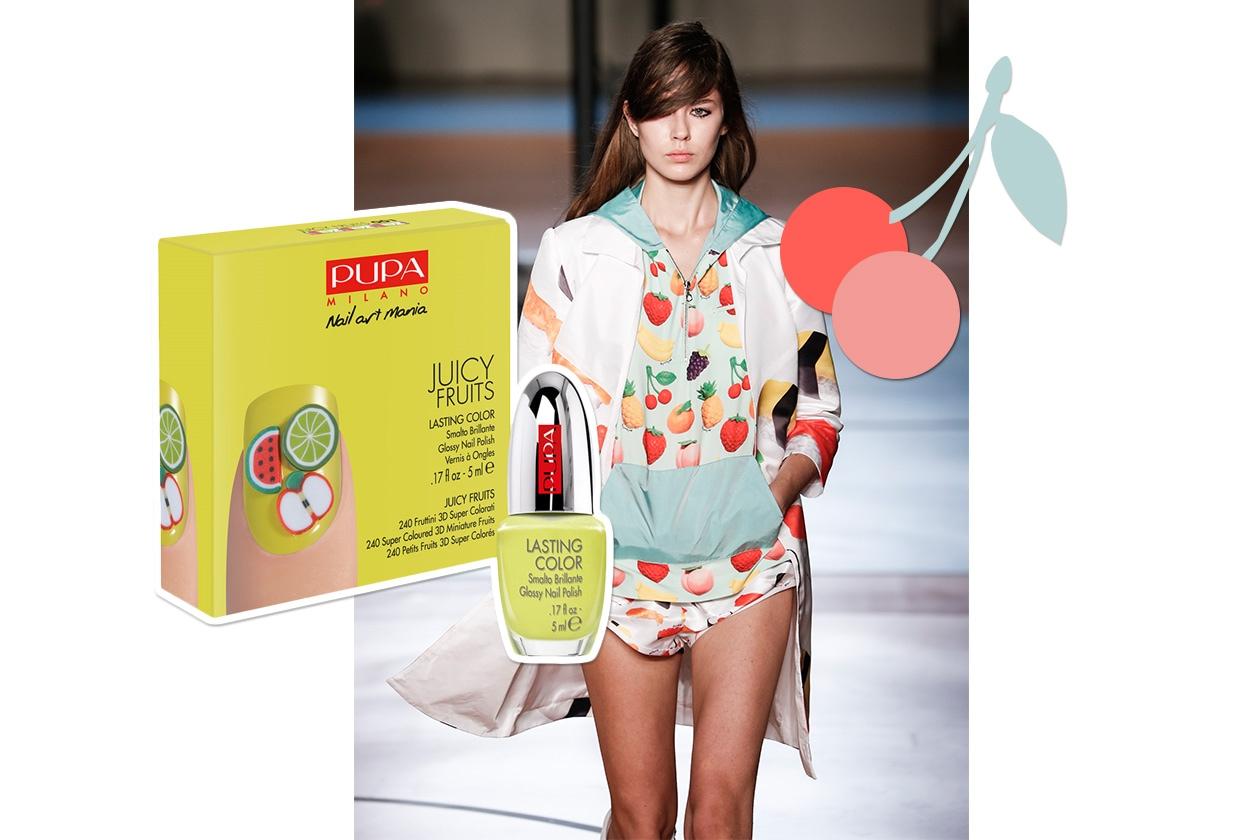 Manicure + Matchy Dress: Tutti Frutti