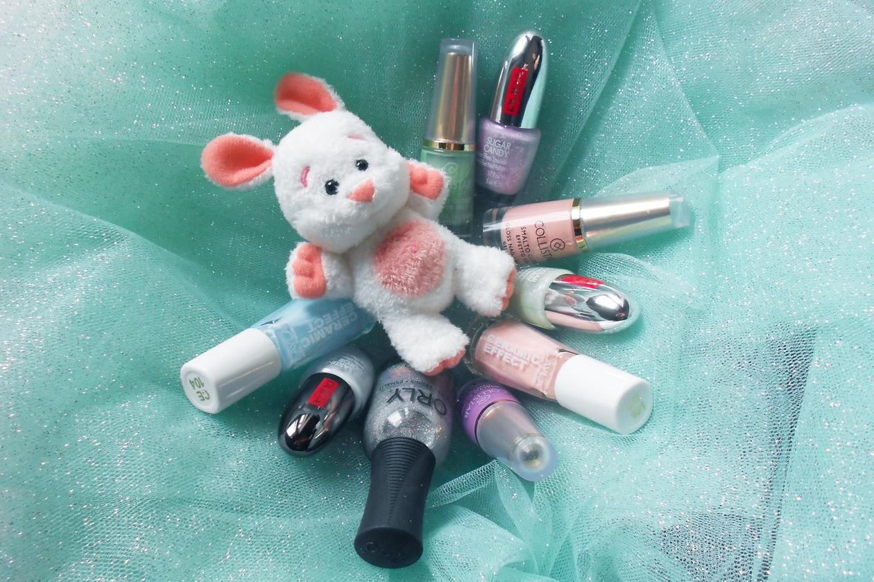 Manicure di Pasqua: gli smalti utilizzati
