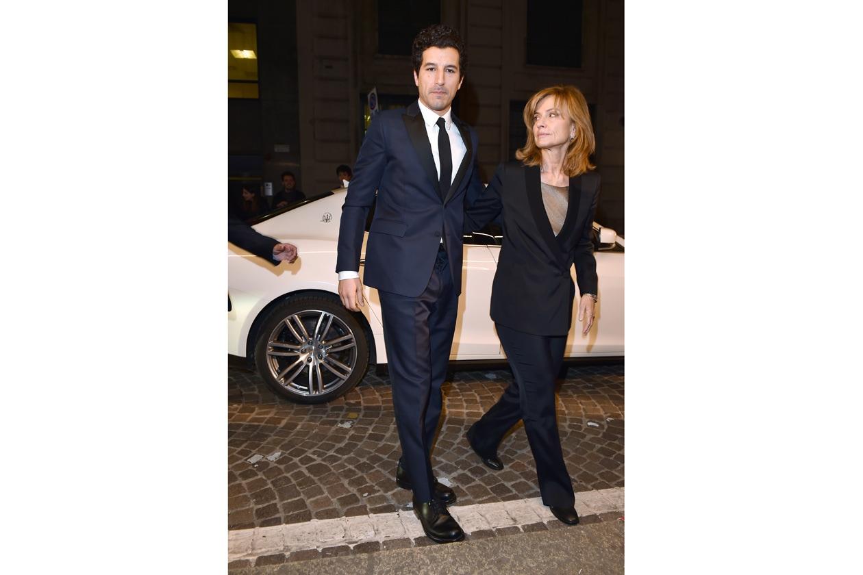 Maserati Latin Lover Première Francesco Scianna, Cristina Comencini