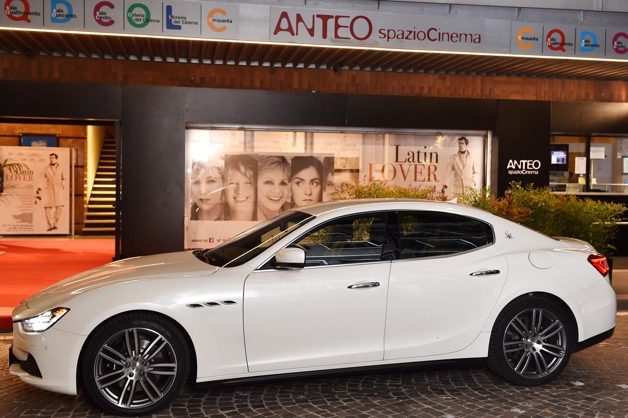 Maserati, courtesy car ufficiale alla première del film