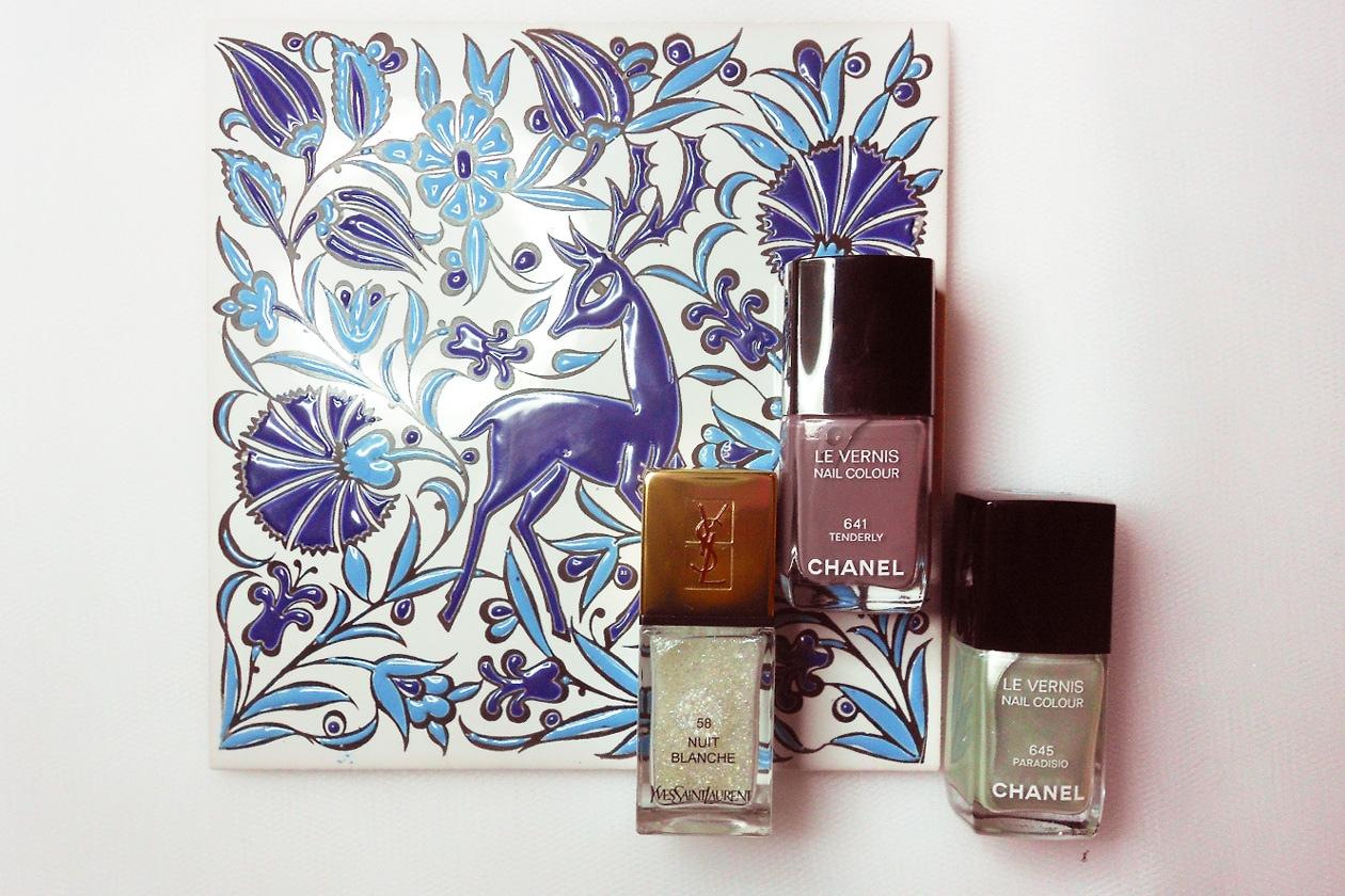 Nail Art Primavera 2015: 2. Blown Away Dandelion – smalti utilizzati