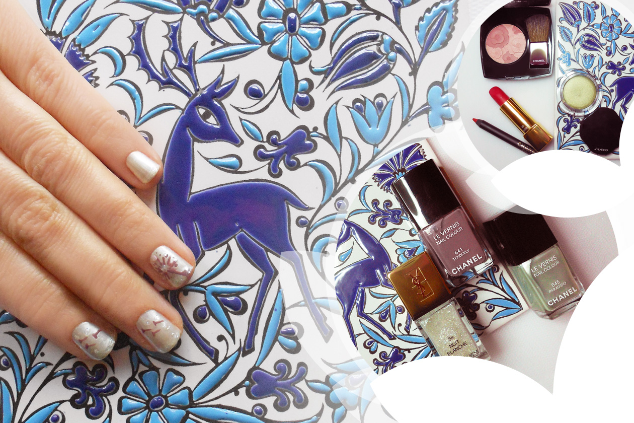 Nail Art Primavera 2015: 2. Blown Away Dandelion