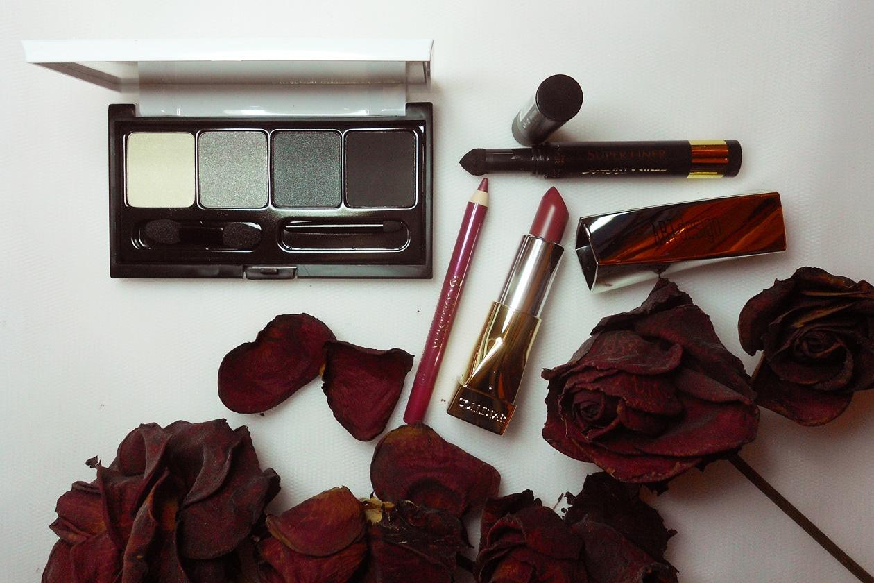 Nail Art Primavera 2015: 4. Dark Flowers – make up inspiration