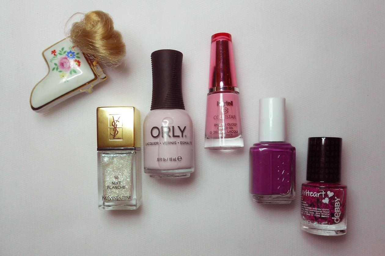 Nail Art Primavera 2015: 6. Madame Barbie – smalti utilizzati