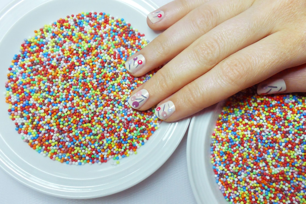 Nail Art Primavera 2015: 7. Lollipops – nail art