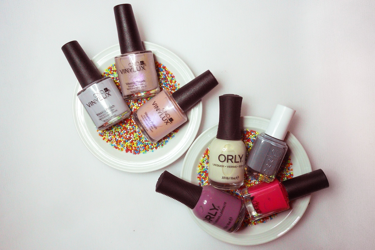 Nail Art Primavera 2015: 7. Lollipops – smalti utilizzati