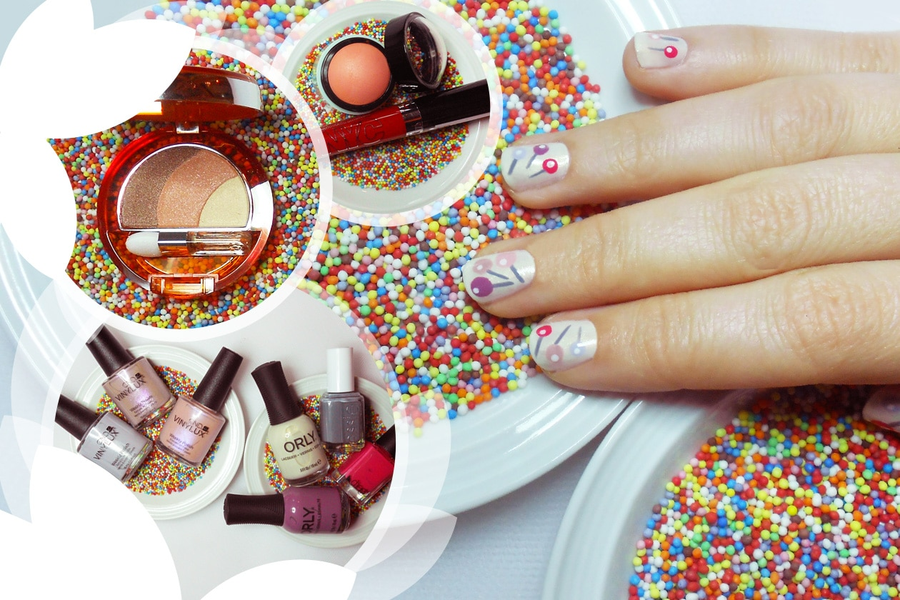 Nail Art Primavera 2015: 7. Lollipops