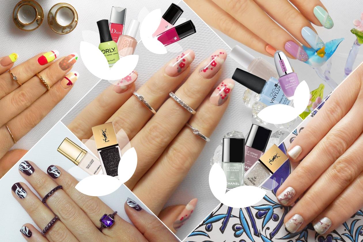 Nail Art Primavera 2015: le manicure proposte da Non solo Kawaii e Grazia.it