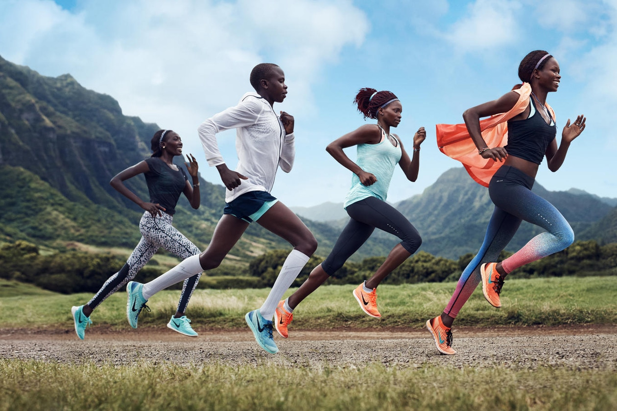 Nike Free run: la campagna