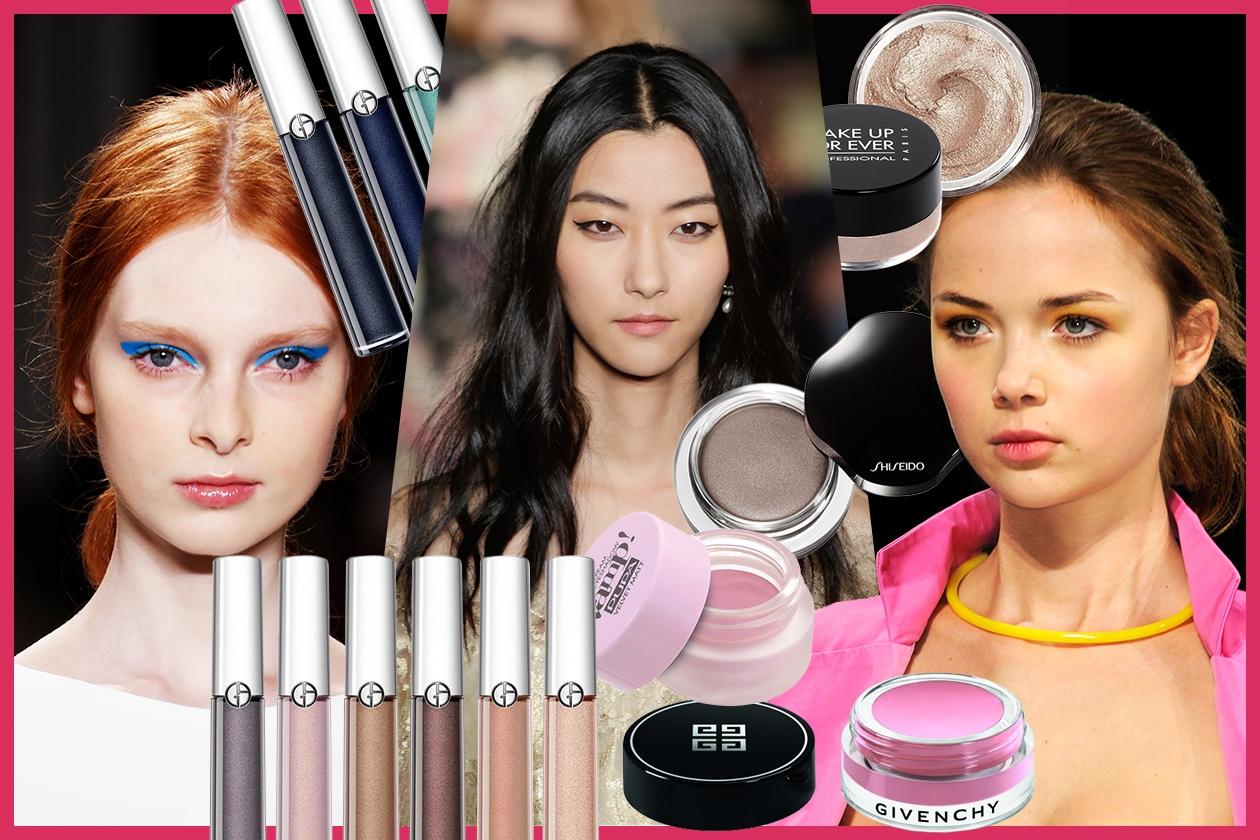 Ombretti in crema: le novità della Primavera 2015