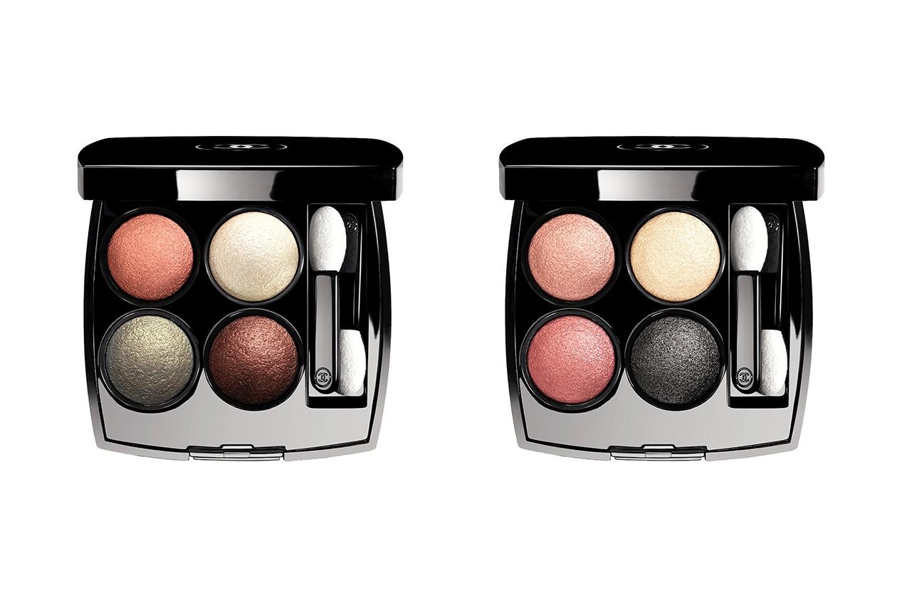 PALETTE DI OMBRETTI: Chanel Les 4 Ombres 236 Tissé Fantaisie e 238 Tissé Paris