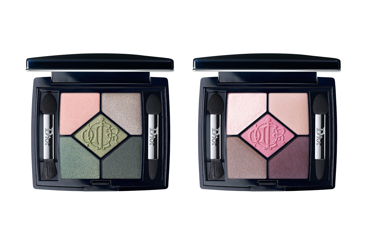 PALETTE DI OMBRETTI: Dior 5 Couleurs Kingdom of Colors 466 House Of Greens e 856 House Of Pinks