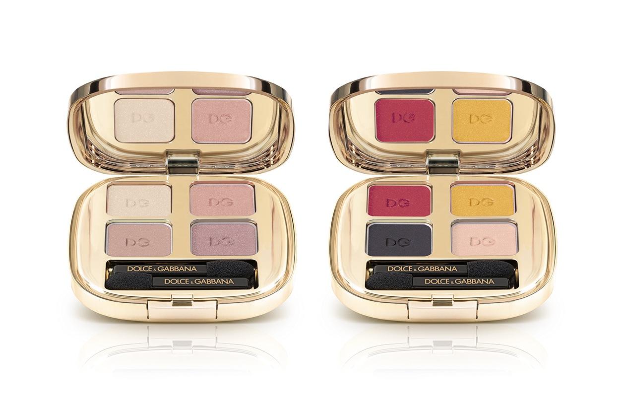 PALETTE DI OMBRETTI: Dolce&Gabbana The Eyeshadow Smooth Eye Colour Quad 121 Tender e 175 Colour Explosion