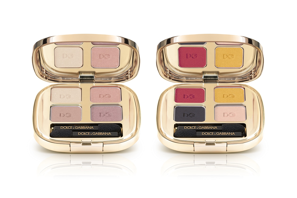 PALETTE DI OMBRETTI: Dolce&Gabbana The Eyeshadow Smooth Eye Colour Quad 121 Tender e 175 Colour Explosion