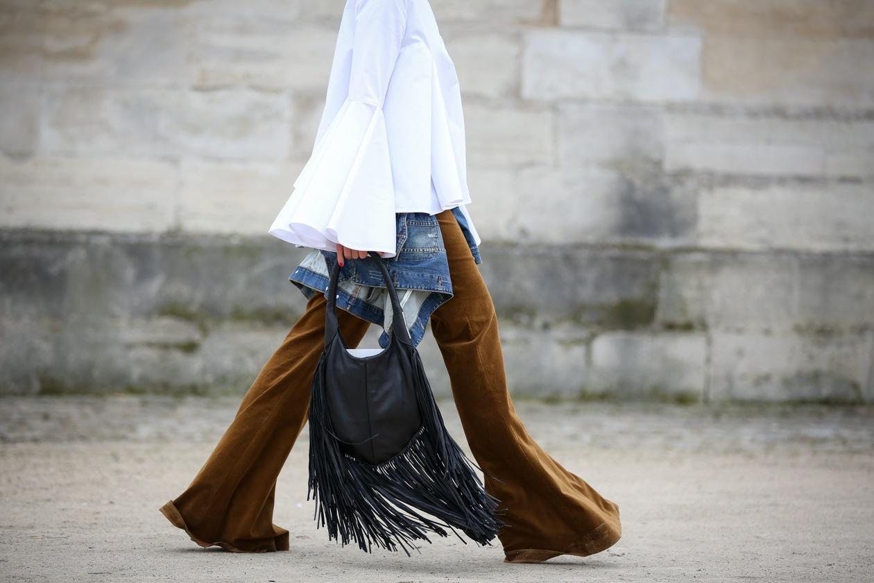 #PFW trend: i pantaloni a zampa