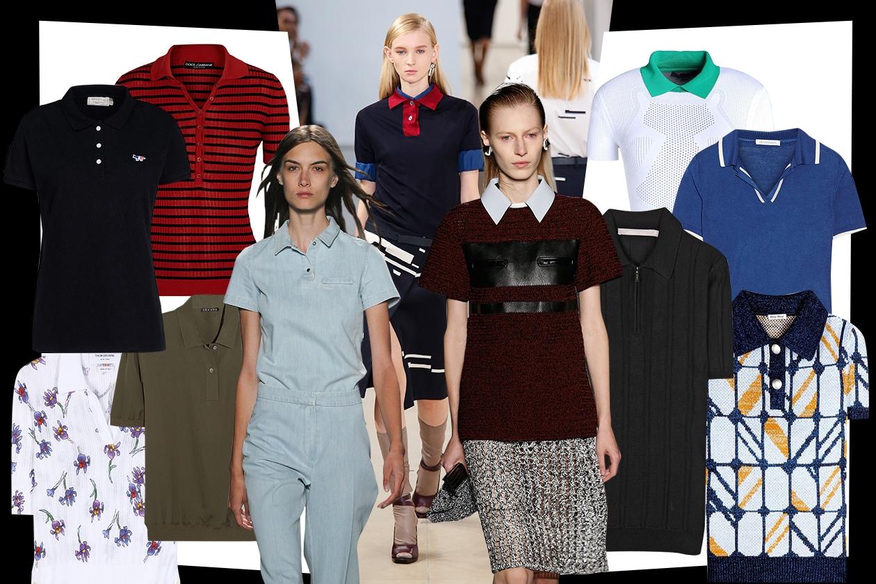 POLO T-SHIRT: le tendenze per la primavera 2015