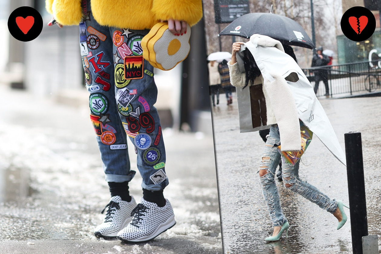 STREET STYLE: HOT I JEANS CON PATCHWORK, NOT I JEANS ULTRA STRAPPATI