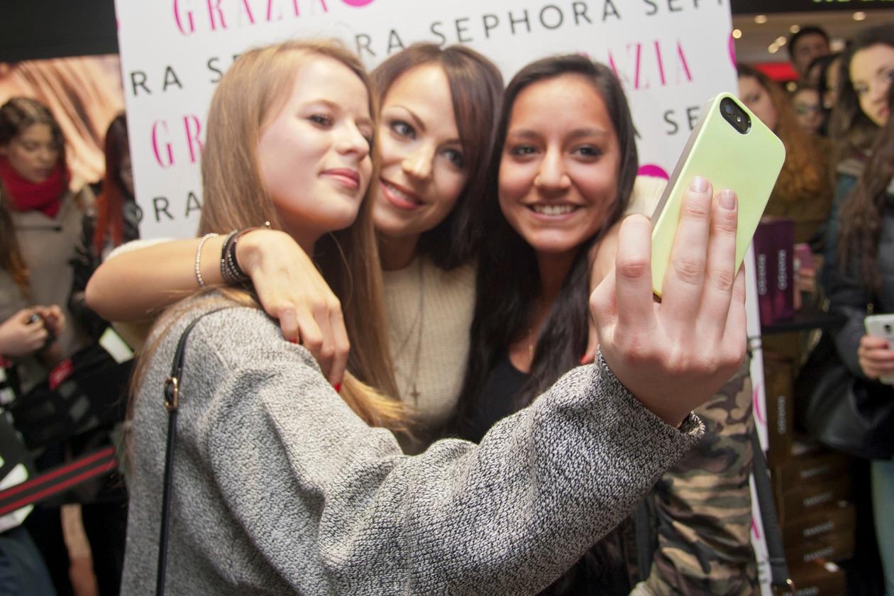 #Sephoraeyes: Onorina con le fan