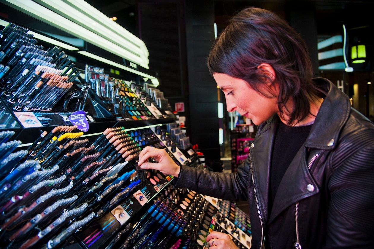 #Sephoraeyes: momento di shopping per la nostra IT Girl Michela