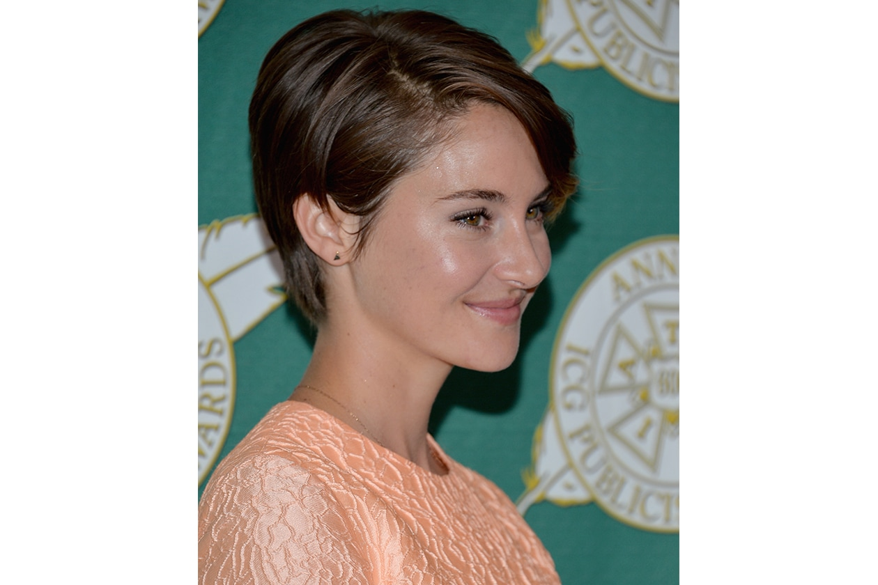Shailene Woodley capelli: bon ton girl