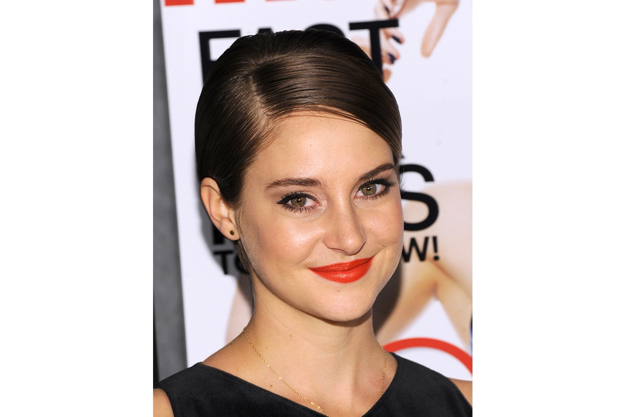 Shailene Woodley capelli: sleek pixie cut