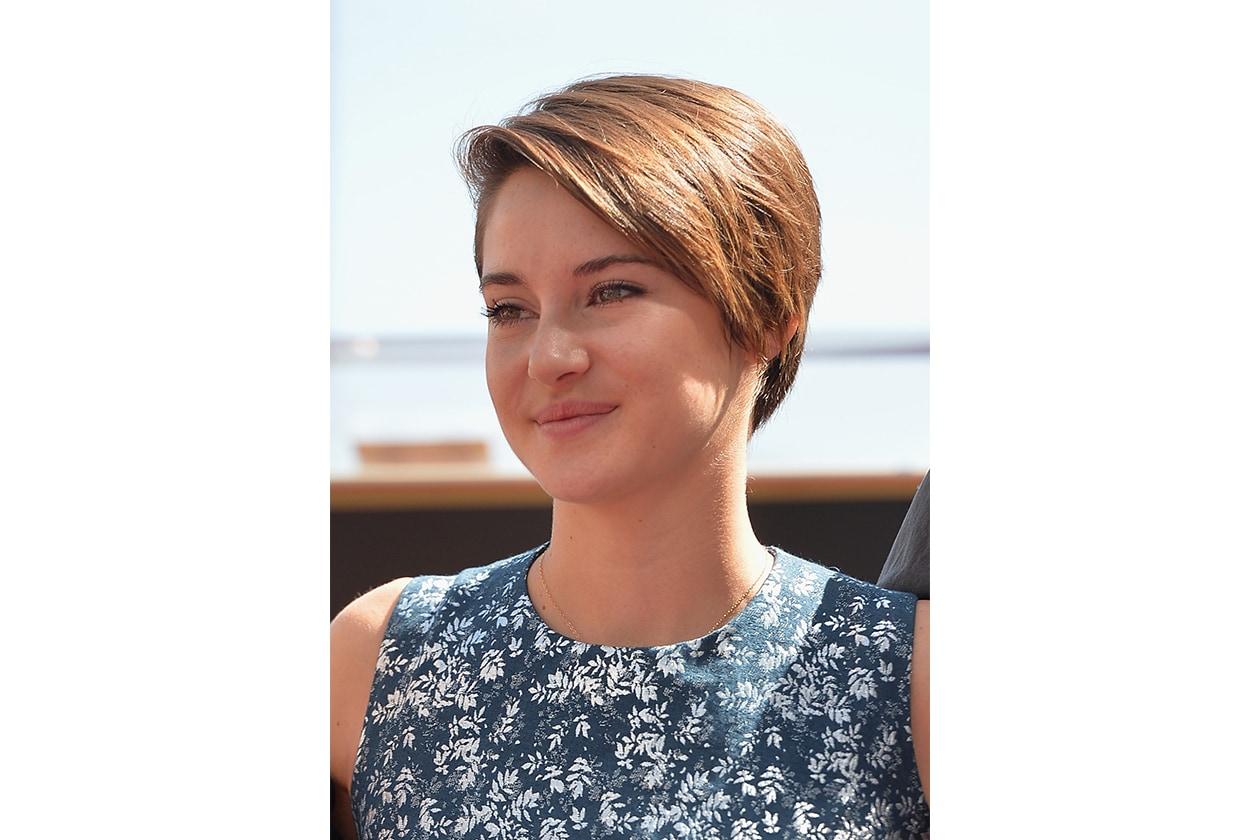 Shailene Woodley: taglio corto morbido