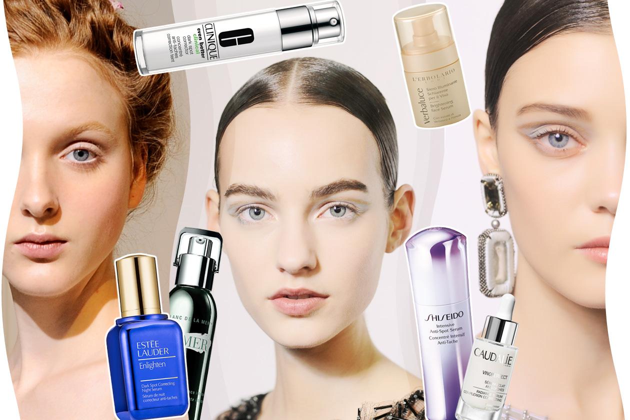 Sieri schiarenti e illuminanti: come combattere le macchie del viso