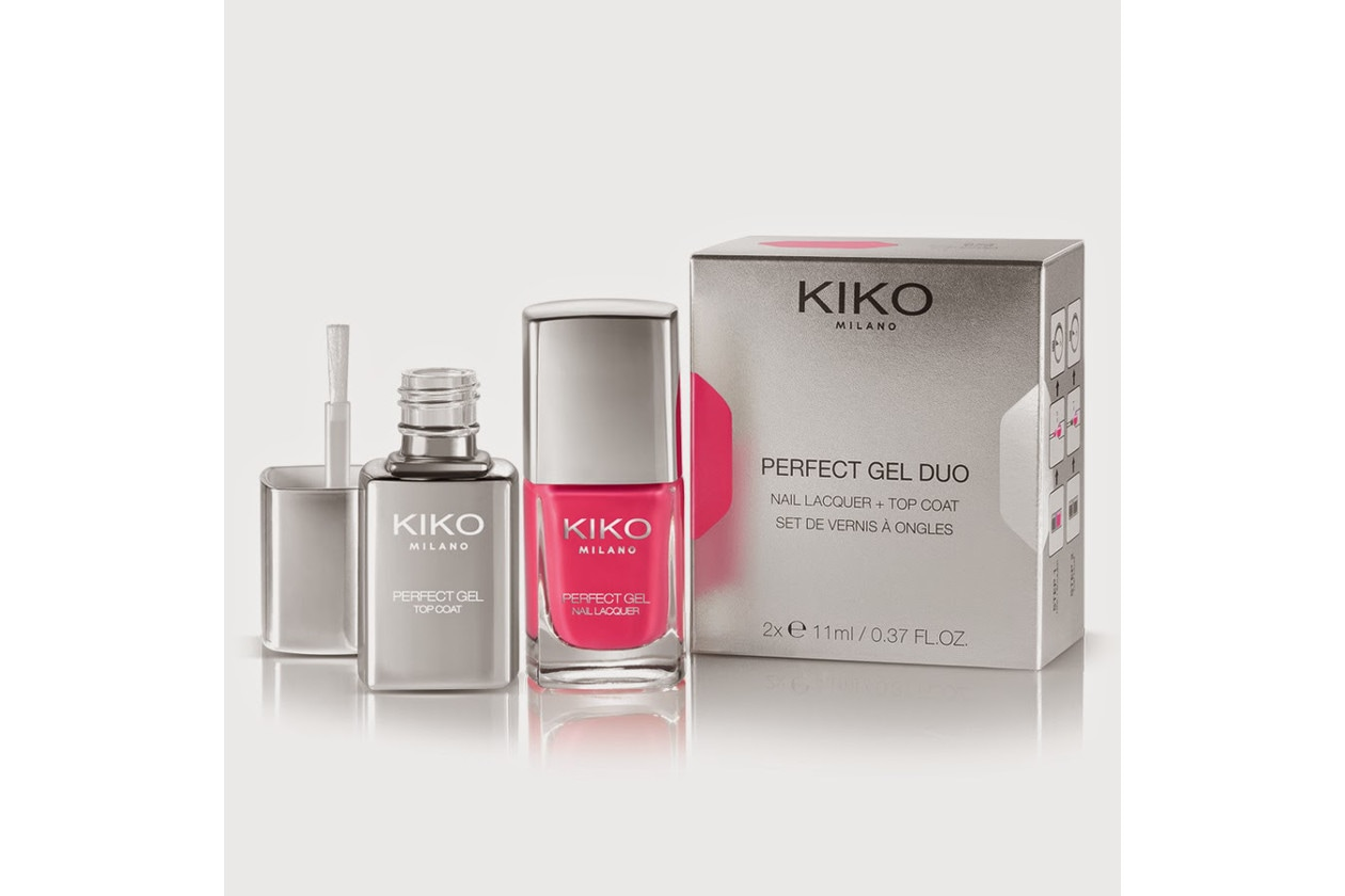 Smalti effetto gel: KIKO Perfect Gel Duo