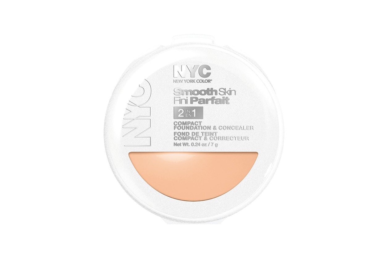 Smooth Skin Fini Parfait 2 in 1 Compact Foundation e Concealer di NYC New York Color