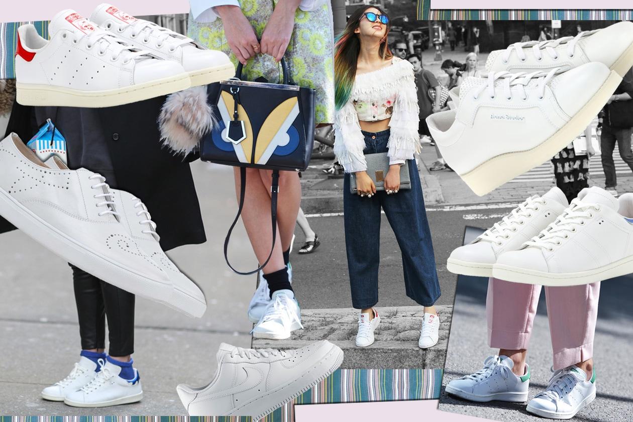Sneakers sì, ma total white