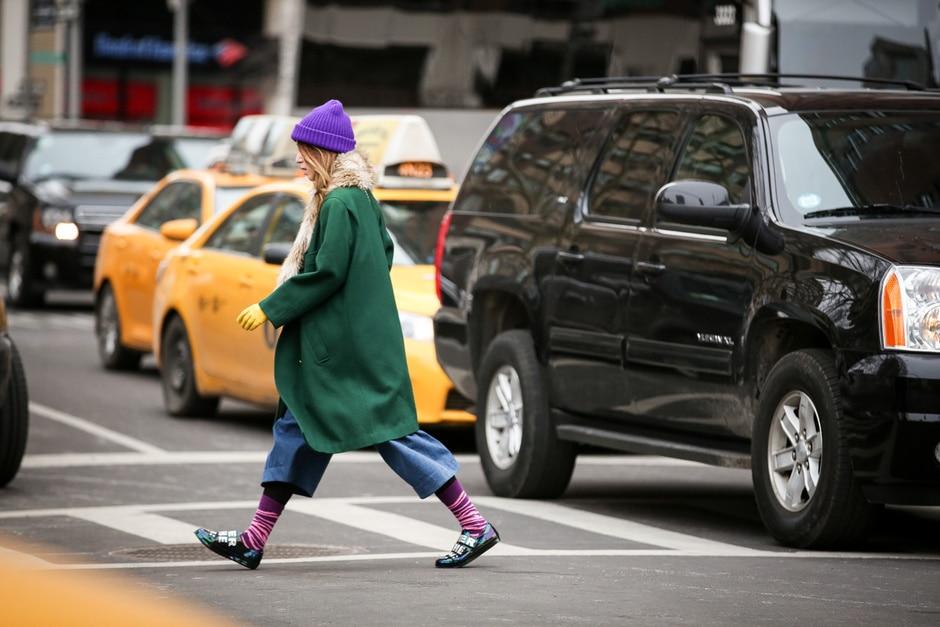 Street Style: colori e look sbarazzino