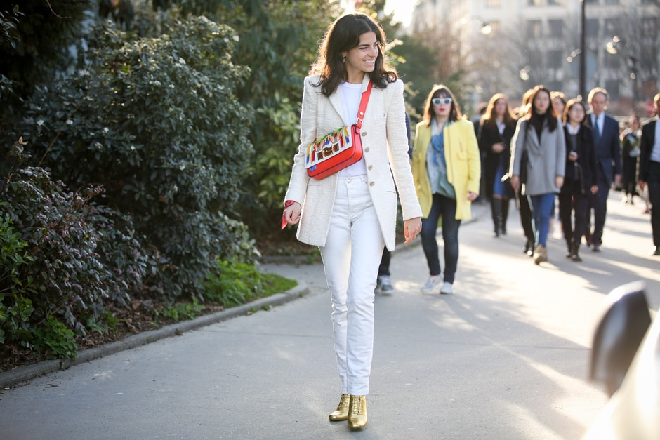 Street Style: completo total white