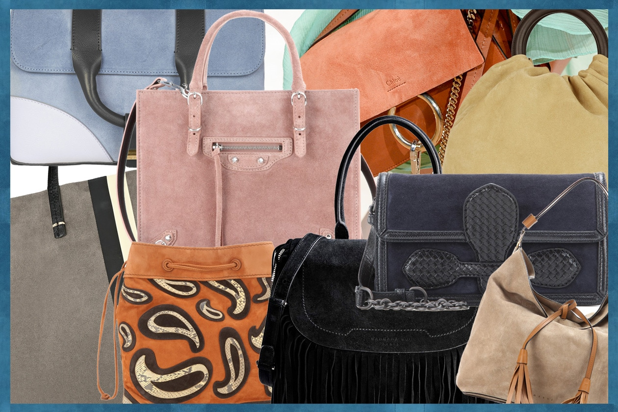 Suede bags for spring!