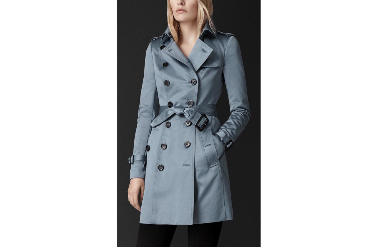 Trench coat: burberry
