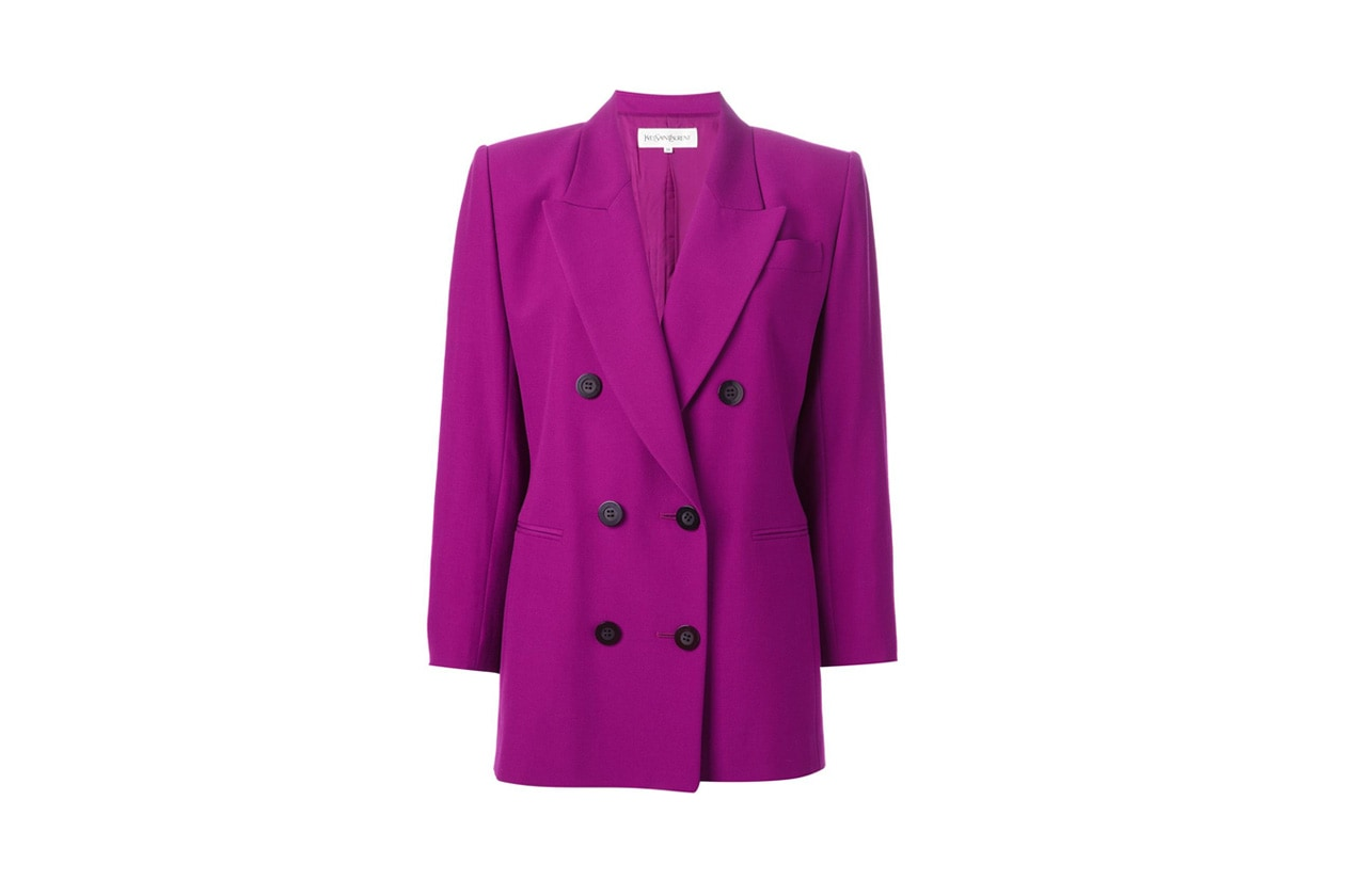 Uptown Funk style: giacca Yves Saint Laurent