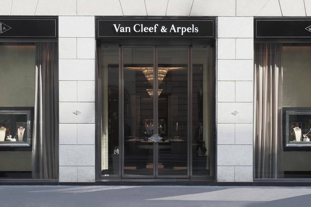 Van Cleef & Arpels: la nuova boutique milanese