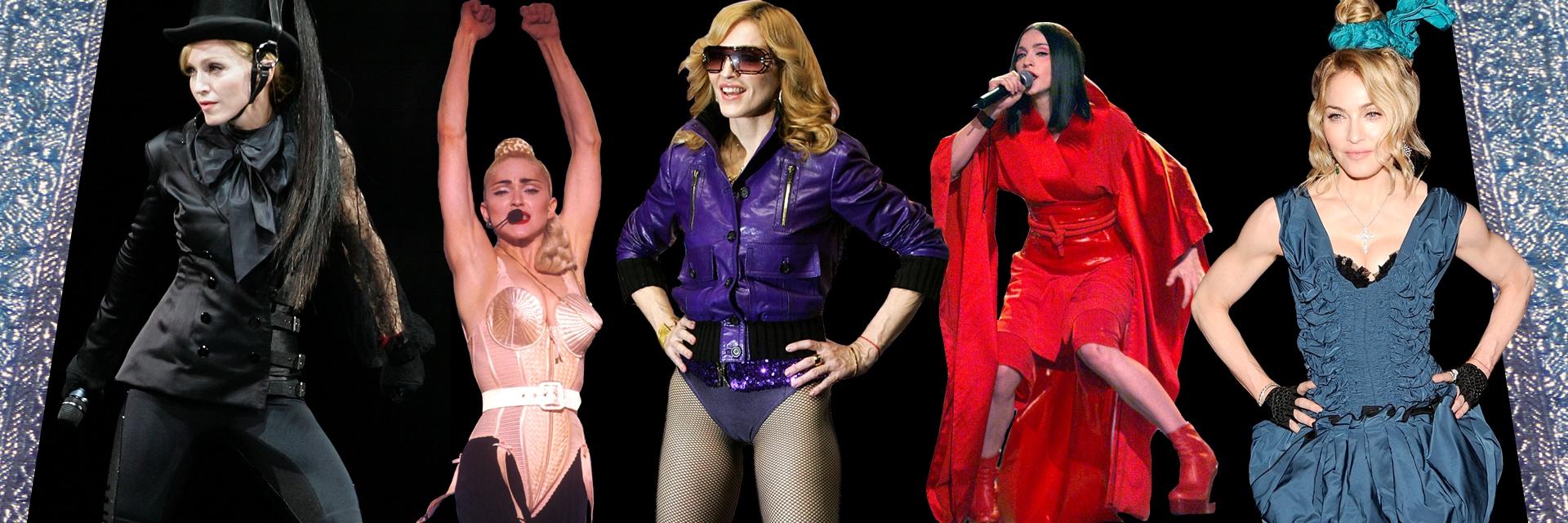 Madonna: più di venti look per celebrare il suo stile
