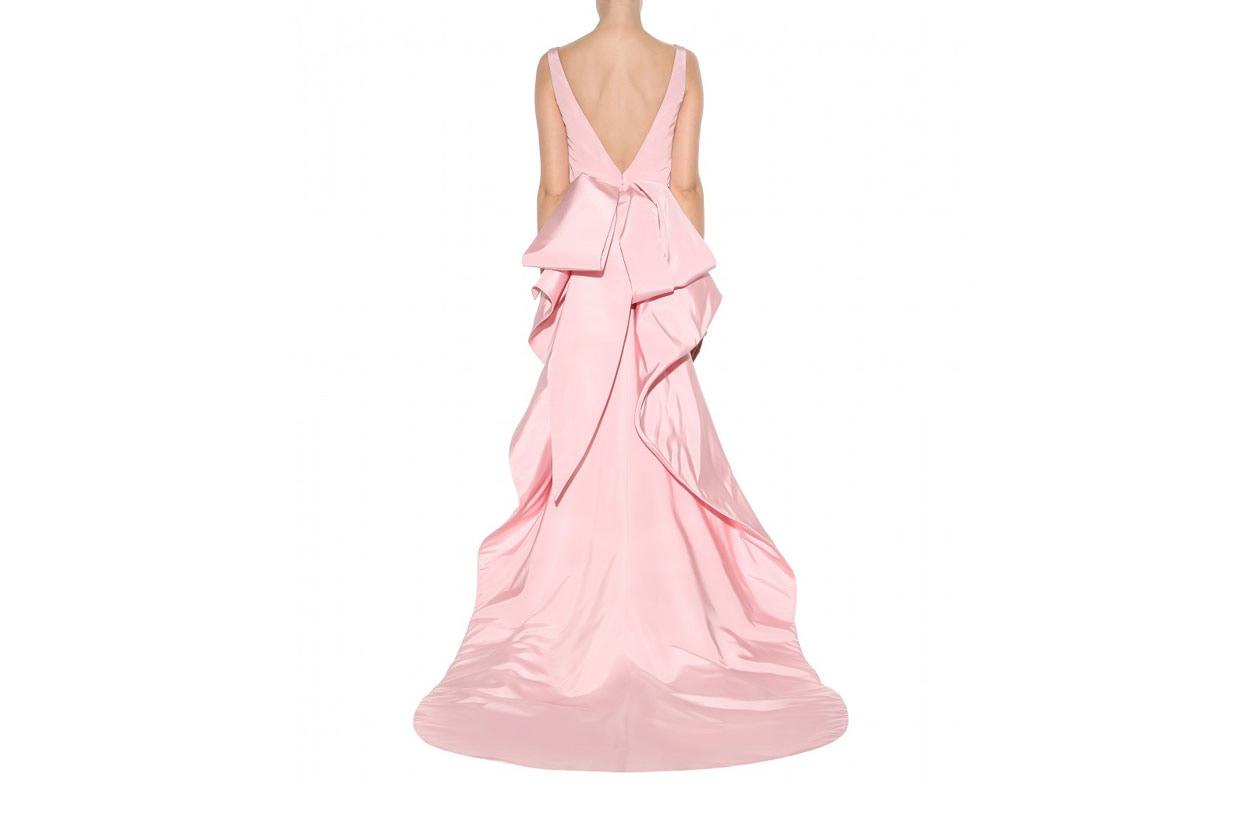 abiti da sposa colorati: OSCAR DE LA RENTA