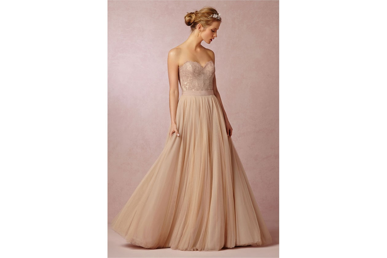 abiti da sposa colorati: bhdln