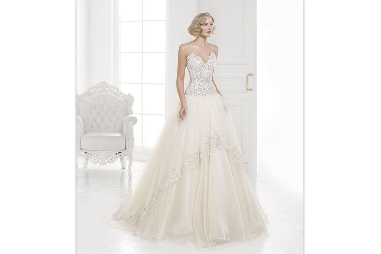 abiti da sposa colorati: carlo pignatelli