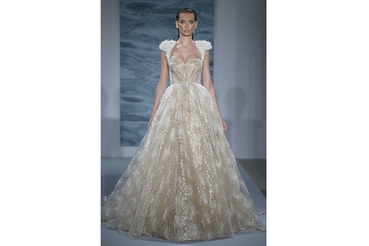 abiti da sposa colorati: mark zunino